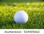 golf ball on green grass | Shutterstock . vector #524405662