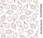 cute seamless pattern made of... | Shutterstock .eps vector #524409286