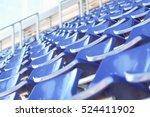 stadium chairs | Shutterstock . vector #524411902