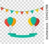 celebrate background | Shutterstock .eps vector #524421988