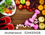 Fitness  Healthy Fruits  Fresh...