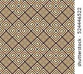seamless pattern meander...   Shutterstock .eps vector #524446522