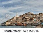 jaffa city sea view | Shutterstock . vector #524451046