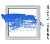 acrylic paint stroke. best... | Shutterstock .eps vector #524464108