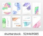 geometric background template...   Shutterstock .eps vector #524469085