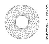 Abstract Spirograph Element....