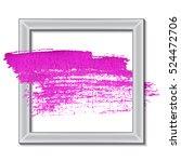 acrylic paint stroke. best... | Shutterstock .eps vector #524472706