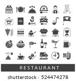 premium quality kitchen and... | Shutterstock .eps vector #524474278