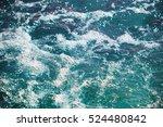 Ocean Water Wave Surface Top...