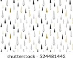 vector seamless pattern with... | Shutterstock .eps vector #524481442