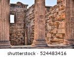 Columns Of Propylaea In...