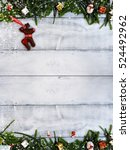 christmas decoration  xmas... | Shutterstock . vector #524492962