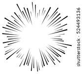 comic explosion effect.... | Shutterstock .eps vector #524493136