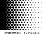 gradient background with dots... | Shutterstock .eps vector #524498878