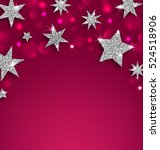 illustration starry silver... | Shutterstock .eps vector #524518906