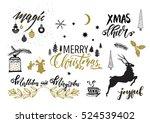 Christmas Design Elements Set....