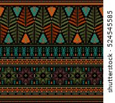 Seamless Ethnic Pattern....