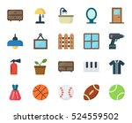 material flat design objects... | Shutterstock .eps vector #524559502