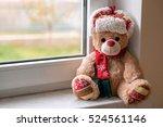 Christmas Teddy Bear On The...