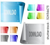 download. vector metal surface.