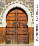 Traditional Entry Door In The...