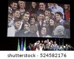 rome  italy   26 november 2016  ... | Shutterstock . vector #524582176