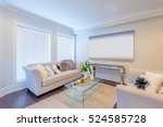 interior design of a luxury... | Shutterstock . vector #524585728