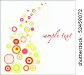 red and yellow spheres | Shutterstock .eps vector #52459072