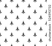 military aircraft pattern.... | Shutterstock . vector #524593732