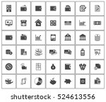 financial icons | Shutterstock .eps vector #524613556