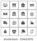 investment icons | Shutterstock .eps vector #524613592