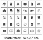 book icons   Shutterstock .eps vector #524614426
