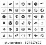 shipping icons | Shutterstock .eps vector #524617672