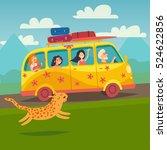 summer trip vector illustration....   Shutterstock .eps vector #524622856