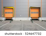two cargo doors at warehouse