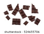 Chocolate Bars Isolated On...