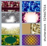 amazing different christmas... | Shutterstock . vector #524667016