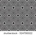 islamic pattern  arabesque... | Shutterstock .eps vector #524700322