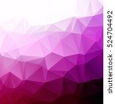 purple polygonal mosaic... | Shutterstock .eps vector #524704492