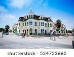 Colonial building (Hohenzollernhaus) in Swakopmund, Namibia