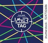 Laser Tag Target Game Poster...