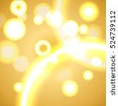 vector abstract festive light... | Shutterstock .eps vector #524739112