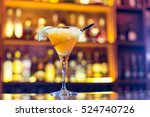 daiquiri cocktail on the bar | Shutterstock . vector #524740726