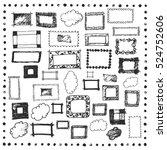 frames decorative graphic... | Shutterstock .eps vector #524752606