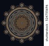 abstract geometric illustration ... | Shutterstock .eps vector #524755696