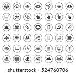 network icons | Shutterstock .eps vector #524760706