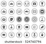 winner icons | Shutterstock .eps vector #524760796