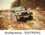 leningrad oblast  russia ... | Shutterstock . vector #524790592