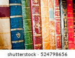 Old Books Row Background....
