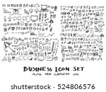 business arrow bubble set...   Shutterstock .eps vector #524806576